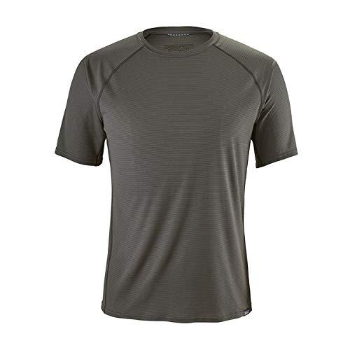 Capilene Shirt Für Herren (Patagonia LW Cap Shirt, Herren XL grau)