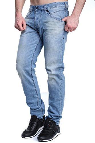 Diesel Herren Jeanshose Blau