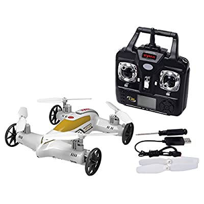 Syma X9S 4CH RC Plane Remote Control Car Quadcopter Drone Land Sky Helicopter - The Perfect Gift For Your Children.