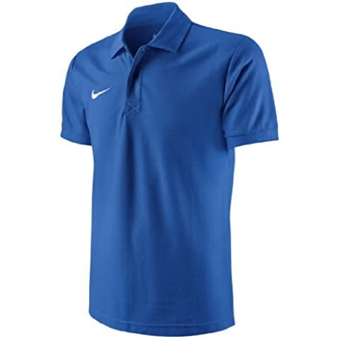Nike TS Core Polo - Polo de golf para hombre, color azul / blanco (royal blue/white), talla S