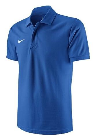 Nike Herren Poloshirt TS Core, blue/white, Gr. L, 454800-463