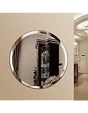 Quality Glass Frameless Round Mirror | Mirror for Wall | Mirror for Bathrooms | Mirror for Home | Mirror Decor | Mirror Size : 24 x 24 inch.