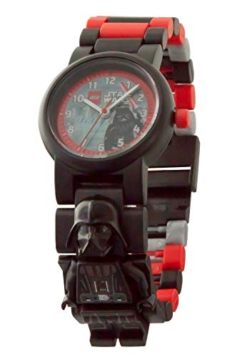 Reloj modificable infantil con figurita de Darth Vader de LEGO Star Wars 8021018