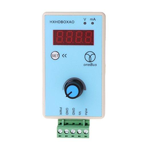 Qiman Handheld Strom Spannung Signal Generator Analog Simulator Ausgang 0-10 V 0-20 mA
