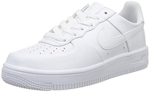 Nike White, Chaussures de Sport Garçon Blanc (Bianco)