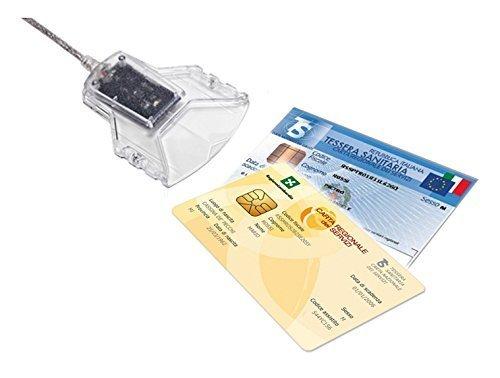 Nuova versione - lettore e scrittore di smart card usb per cns,crs,piv firma digitale idbridge ct31