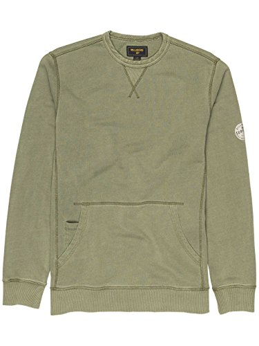 Herren Sweater Billabong Wave Washed Crew Sweater Military