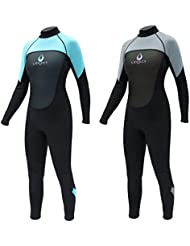 Legacy 3/2mm Womens Full Length Wetsuit Ladies Steamer XS-L