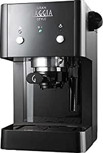 Gaggia RI8323/01 Gran Style Coffee Machine, 950 W, 15 Bar, Black