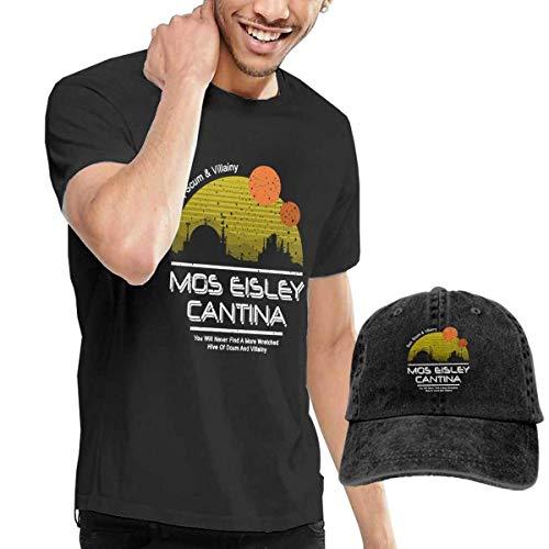 Baostic Herren Kurzarmshirt Men's Mos Eisley Cantina