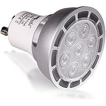 BriTools Lámpara LED Dicroica GU10, 7 W, Luz Fría 6500K