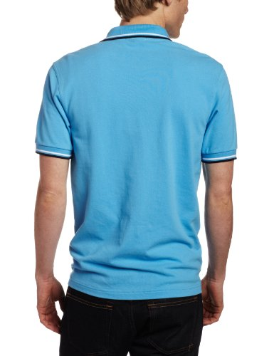 Fred Perry Herren Poloshirt, Limelight Blue