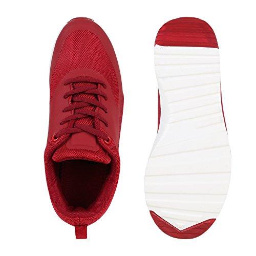 Stiefelparadies , Low-top femme rouge foncé