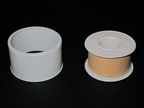 5 Rollen 500cm x 2,5cm Heftpflaster, 5,00m Pflaster Rollenpflaster