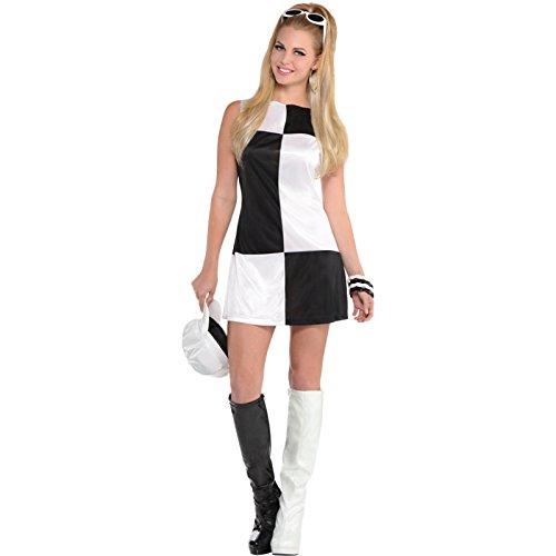 60er-Jahre Mod Mädchen Kostüm Damen -
