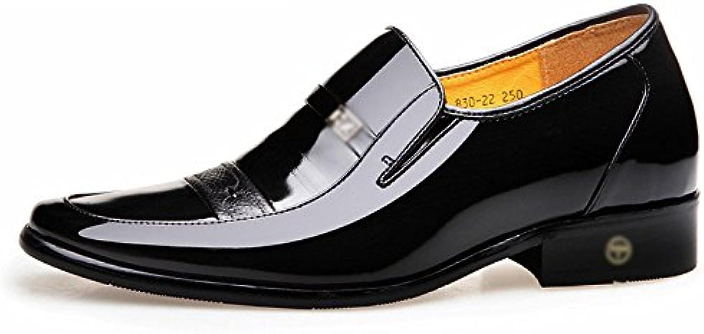 LYZGF Männer Gentlemen Casual Business Mode Büro Hochzeit Lederschuhe