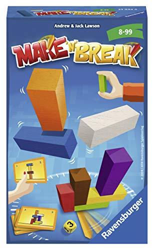 Ravensburger 23444 - Make 'n' Break - Kinderspiel/ Reisespiel