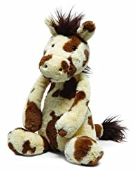 Jellycat Bashful Pony Pinto Medium New