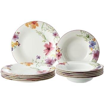 villeroy boch 10 4100 7609 mariefleur basic tafel set premium porellan 12 teilig. Black Bedroom Furniture Sets. Home Design Ideas