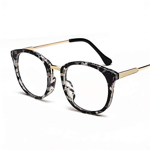 WULE-RYP Polarisierte Sonnenbrille mit UV-Schutz Modische Klassische Retro Brille Klare Linsengläser. Superleichtes Rahmen-Fischen, das Golf fährt (Farbe : Blau)