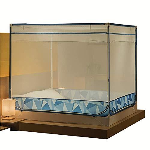 Sunny Übergroße Tragbare Moskitonetz - Home Schlafzimmer Outdoor Camping Anti-Moskito - Pflegeleicht Maschinenwäsche Ohne Stimulation (größe : 1.8m×2.2m Bed)