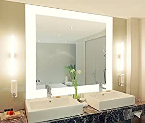 badspiegel mit beleuchtung vella m444l4 design spiegel. Black Bedroom Furniture Sets. Home Design Ideas