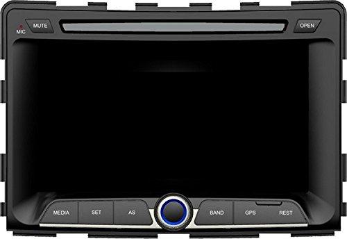 Preisvergleich Produktbild Gowe Android 17,8cm Auto DVD Player für SSANGYONG RODIUS, 1DIN mit GPS/Bluetooth/SWC/Dual Zone/3G/Radio/Virtual 6CD/ATV/iPod/Canbus