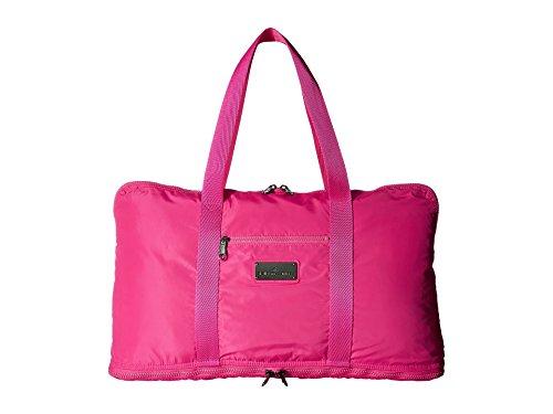 adidas by Stella McCartney Women's Yoga Bag, Shock Pink/Ruby Red/Gunmetal, One Size (Stella Ruby)