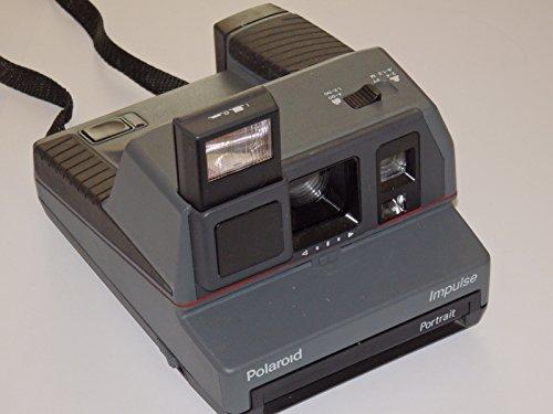 Polaroid Impulse Portrait–Analogique Appareil photo instantané Idéal pour 600Films # # Collector–Technique geprüft–Fonctionne–by photo Flash # #