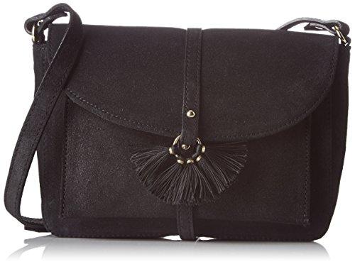 Petite Mendigote - Sanfuego, Borsa a tracolla Donna Noir (Noir (Black))