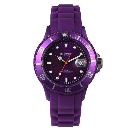 Just Watches 48-S10307DBR-WH - Orologio da polso uomo, pelle, colore: nero