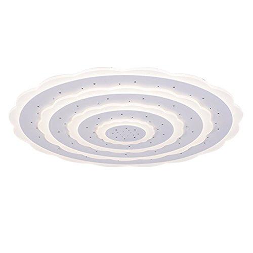 DLpf Neue ultra-dünne Wohnzimmer runde Atmosphäre Sog Deckenleuchte Schlafzimmer Zimmer Lampe Durchmesser 40 cm externen 26-W-Led - Sog-bereich