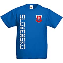 Slowakei Slovensko Kinder T-Shirt Trikot Name Nummer