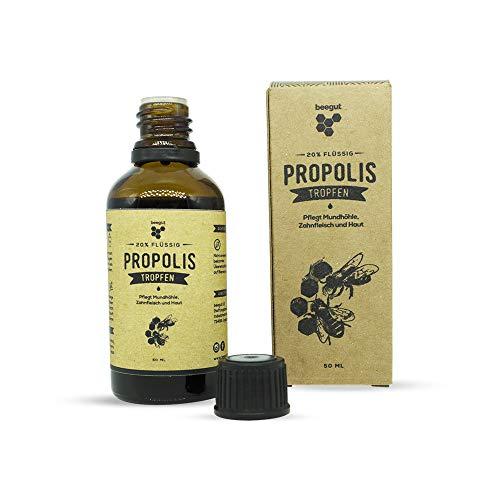 beegut Propolis Tropfen 50ml in natürlicher Imkerqualität, Hergestellt in Deutschland