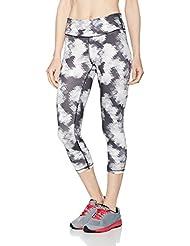 Puma All Eyes On Me 3/4Mallas Pantalones, primavera/verano, mujer, color wht explosive pt, tamaño L