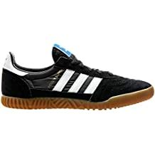 adidas Originals Indoor Super, Core Black-Footwear White-Gum, 13,5
