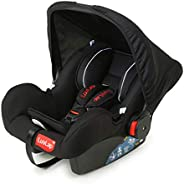 LuvLap 4-in-1 Infant/Baby Car Seat & Carry Cot with Canopy, 0 to 15 Months (Bl