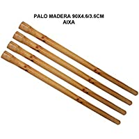 PAMEX Palo de Madera 90x4.6/3.6cm 1 Unidad