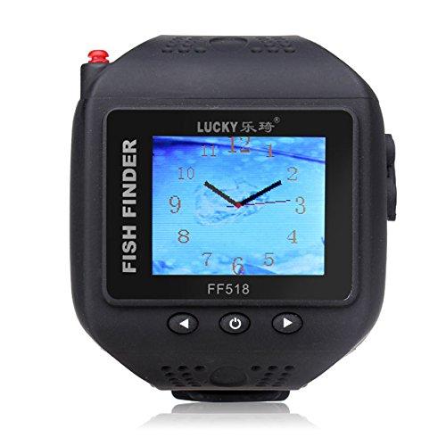 LaDicha Handgelenk Uhr Typ Fisch Finder Farbe Bildschirm Wireless-Gitter Fishfinder