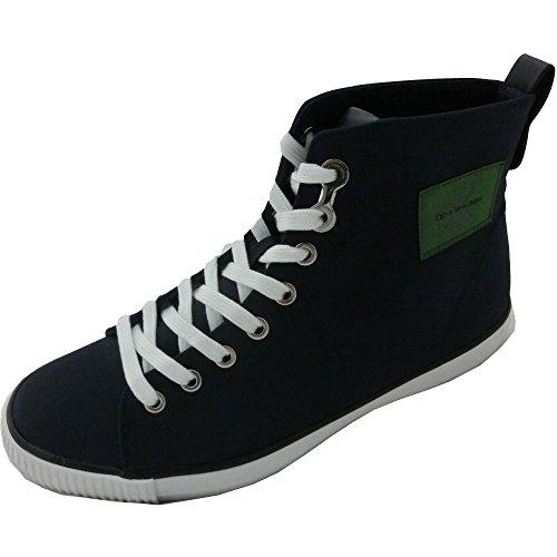 Calvin Klein Jeans Uomo 2922 Andis Nylon s0540 Indigo - Scarpe Nylon Blu (40)