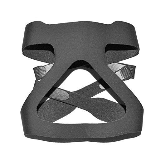 Universal CPAP Kopfbedeckung, Hersvin Ersatz-Kopfband, kompatibel mit den meisten Nasen-, Vollgesichts-Schlaf-Apnoe-Masken der Atemwege, Resmed, Resmart Ventilator -