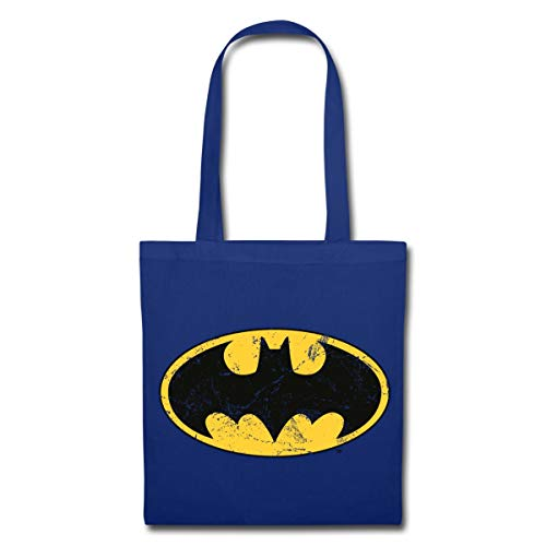 Spreadshirt DC Comics Batman Logo Used Look Stoffbeutel, ()