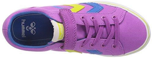 Hummel - Hummel Deuce Court Jr, Sneaker basse Bambina Rosa (Pink (Radiant Orchid))