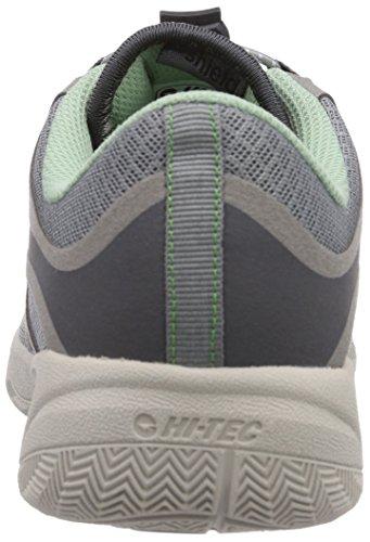 Hi-Tec V-LITE RIO RACE I WOMEN'S, Chaussures de Fitness femme Gris (Cool Grey/Steel Grey/Lichen)