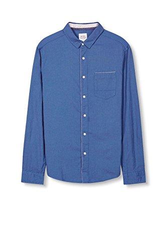 edc by Esprit 027cc2f004, Chemise Casual Homme Bleu (Bright Blue)