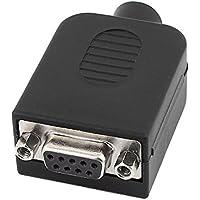 DB9 Adaptador de conector - TOOGOO(R) DB9-M9 Estable DB9 conector 9 pines hembra adaptador modulo de terminales con caja