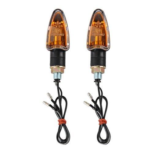 2X Lámpara Luz 12V 2W Intermitente Indicador Amarillo para Moto