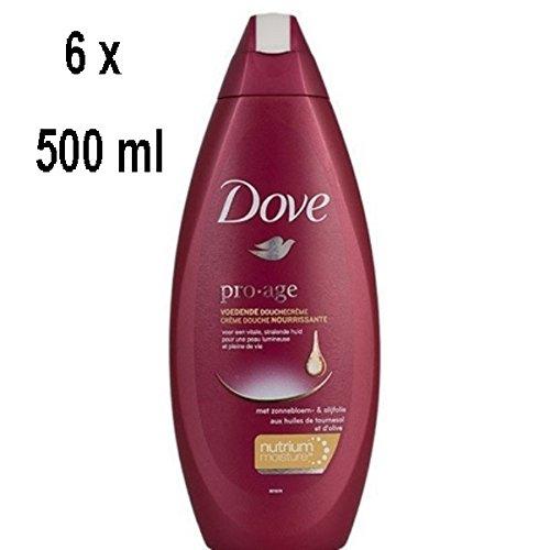 "DOVE Women Duschgel ""Pro-Age"" - 6er - Pack (6 x 500 ml)"
