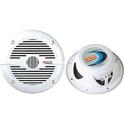 Boss Audio Systems Marine - Altavoces para coche (De 2 vías, 90 Db, 200W, 20,32 cm, 20,32 cm, 10,16 cm)