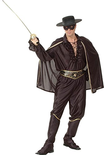 Kleid Kostüm Party Super Hero Legende Von Zorro Deluxe Bandit Man Kostüm Outfit